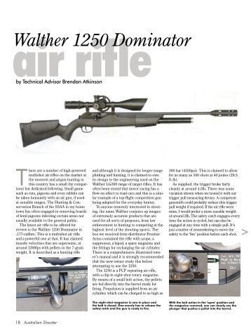 Walther 1250 Dominator - Frontier Arms