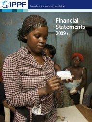 Financial Statements - International Planned Parenthood Federation