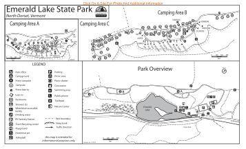 Lake George Battleground Campground Map