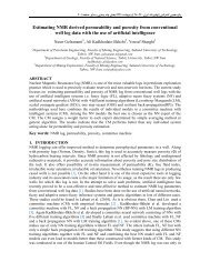 Estimating NMR derived permeability and porosity from ...