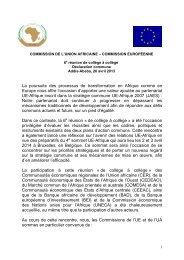 Addis-Abeba - Union Africaine