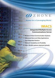 Zhone IMACS Family Brochure - LightRiver Technologies, Inc.