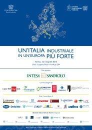 Programma - Confindustria Piemonte