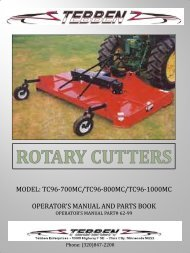 3-Pt Double Cutter Manual - JS Woodhouse
