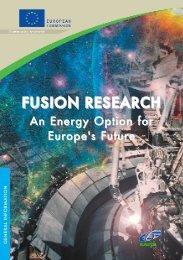 Fusion research - EFDA
