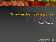 Coordenadas y calculadoras - Gbif.es
