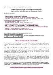 28 novembre - Comune di Fiesole