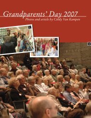 Grandparents' Day 2007 - Timothy Christian Schools