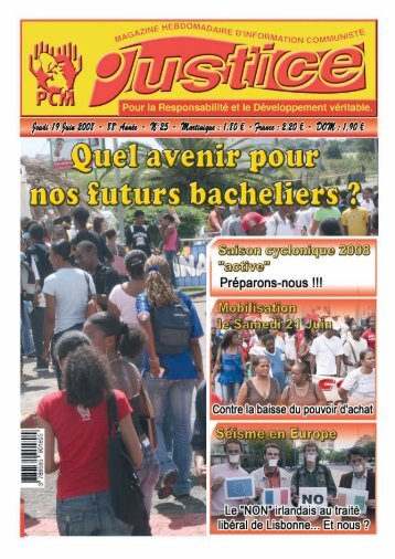 Mise en page 1 - Journal JUSTICE