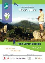Plan Climat Energie Haut-Jura - 2012 - Parc naturel régional du ...