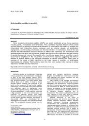 Antimicrobial peptides in annelids