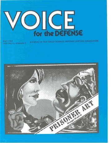 art - Voice For The Defense Online
