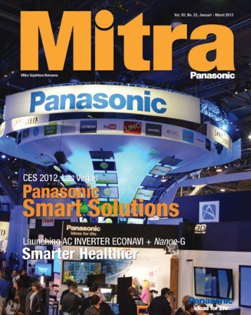 Mitra Panasonic Januari - Maret 2012 - KWN Indonesia