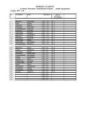 Lista studentów