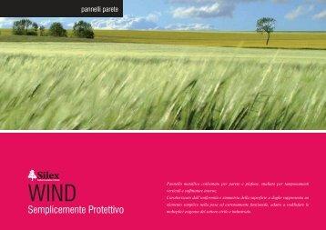 Pannello Silex Wind - Certened