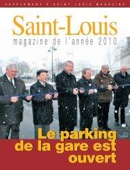 magazine de l'année 2010 en pdf - Saint-Louis