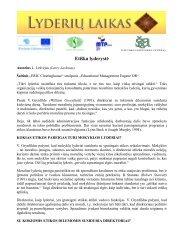 Etiška lyderystė.pdf - Lyderių laikas
