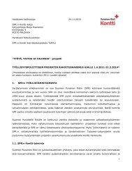 Liite 2 Toimintasuunnitelma 2012 - Turku