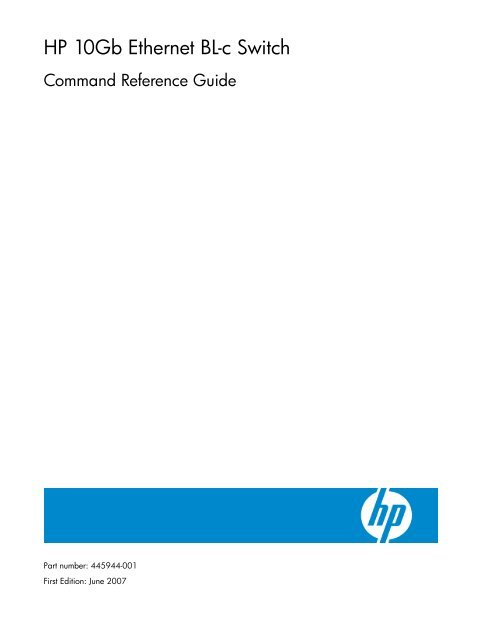 Hp Switch Configuration Commands Step By Step