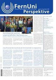 Nr. 23 / Frühjahr 2008 (pdf, 18 MB) - FernUniversität in Hagen