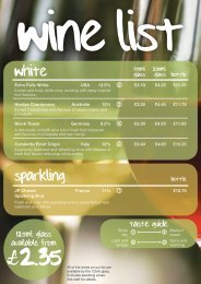 to view our Wine Menu - Butlers