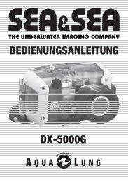 UW-Gehäuse DX 5000 G - Dive Company