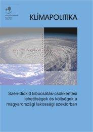 Klímapolitika - Szén-dioxid kibocsátás-csökkentési lehetőségek és ...
