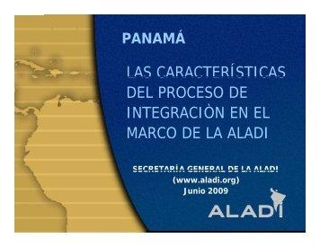 Presentación Powerpoint (ALADI)