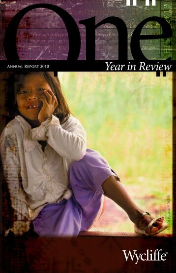 Progress Report - Wycliffe Bible Translators