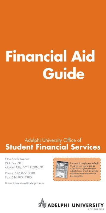 Financial Aid Guide - eCampus - Adelphi University
