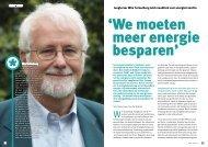 Hoogleraar Wim Turkenburg luidt noodklok voor ... - PersPagina