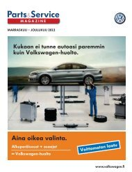 Parts&Service - Volkswagen