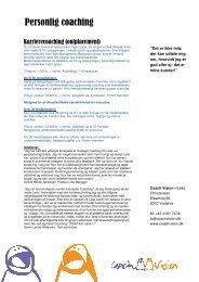 download priser og eksempler. - Coach Vision