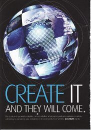 Create It and They Will Come - Alex Blyth