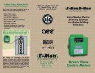 Green Meter Application Flyer - E-Mon