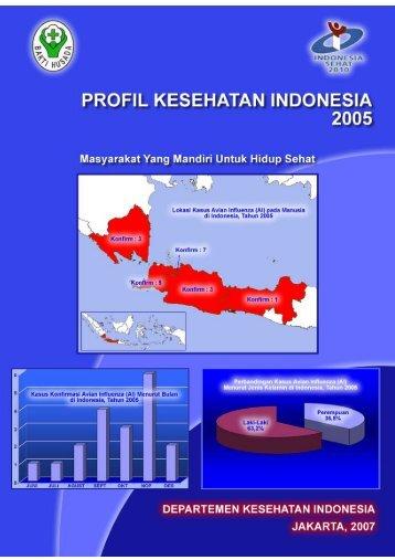 Profil Kesehatan Indonesia 2005.pdf - Departemen Kesehatan ...