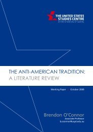 the anti-american tradition: a literature review - United States ...
