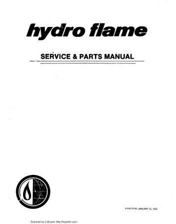 hydro flame Furnace REPLA