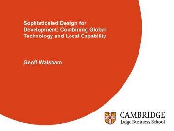Geoff Walsham - Positive Design