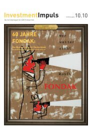 60 JAHRE FONDAK: - ADIG Fondsvertrieb GmbH