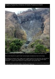 Angalo's Footprints, Evidence of Giants ... - Philippine Culture