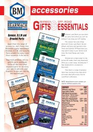 Bearmach Accessories 11th Edition - Gifts and Essentials - Rovacraft