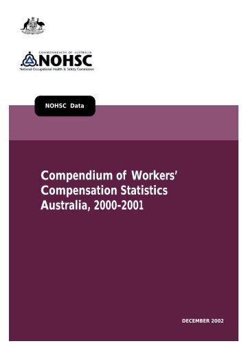 Compendium of Workers' Compensation Statistics 2000 - 2001