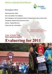 Årsrapport 2011 - Friluftsrådet