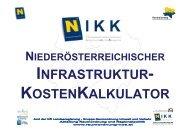 infrastruktur - Raumordnung und Regionalpolitik