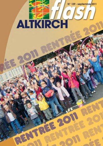 A ltkirch Flash n° 129 - Site officiel de la Mairie altkirch