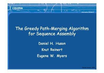 The Greedy The Greedy Path-Merging Algorithm Merging Algorithm ...