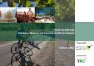 NE Rail Trail Preliminary Demand and Economic Benefit Assessment Feb 2014