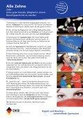 Disziplinblatt Bowling - Seite 2