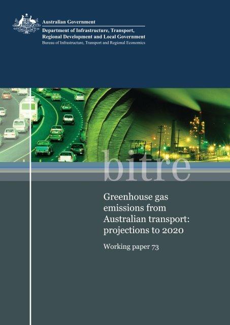 PDF: 9795 KB - Bureau of Infrastructure, Transport and Regional ...